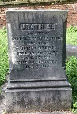 """Urath Owings """"Urith"""" <I>Lawrence</I> Brown"""