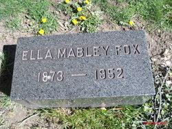 Ella <I>Mabley</I> Fox