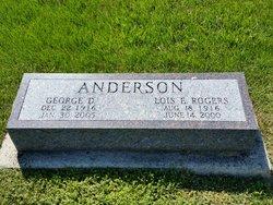 Lois E. <I>Rogers</I> Anderson