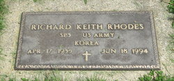"""Richard Keith """"Dusty"""" Rhodes"""