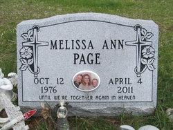 Melissa Ann Page