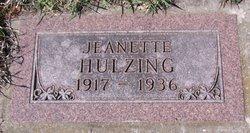 Jeanette Hulzing