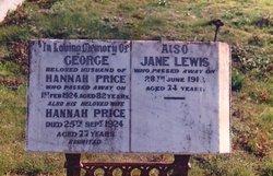 Jane <I>Buckle</I> Lewis