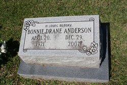Bonnie <I>Drane</I> Anderson