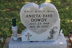 Anieta Faye <I>Saunders</I> Dowdy