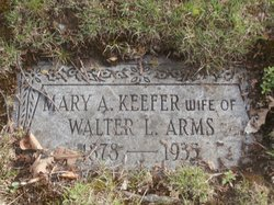Mary A <I>Keefer</I> Arms