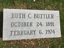 Ruth May <I>Curtis</I> Buttler