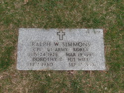 Dorothy R Simmons