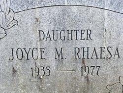 Joyce M. <I>Karcher</I> Rhaesa