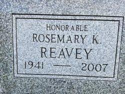 Judge Rosemary K. <I>Karcher</I> Reavey