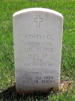 Edith G Curtin