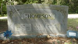 Betty Joy <I>Walston</I> Thompson