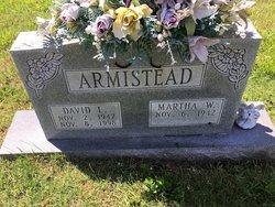 Martha <I>Weakley</I> Armistead