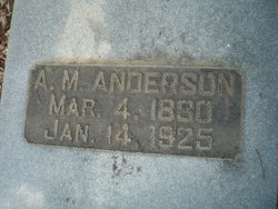 Amos Milledge Anderson