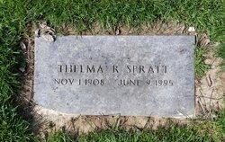 Thelma <I>Ramsey</I> Spratt