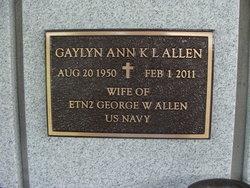 Gaylyn Ann Kuana <I>Lee</I> Allen