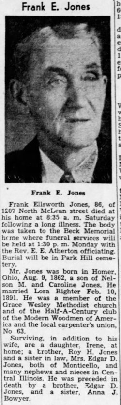 Frank Ellsworth Jones