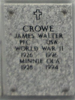 James Walter Crowe