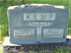 Margaret J. <I>Crank</I> Kemp