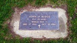 John P. Ridge