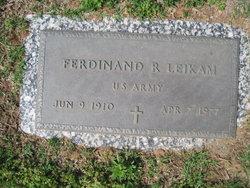 Ferdinand R Leikam