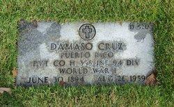 Pvt Damaso Cruz