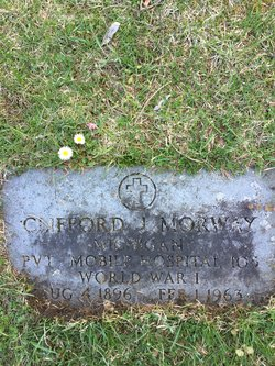 Clifford J Morway