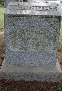 Jennie E. <I>Hill</I> Albright