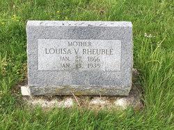 Louisa V. <I>Sherman</I> Rheuble