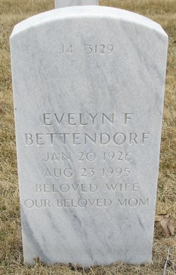 Evelyn F Bettendorf