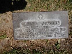 Pvt Alfred Joseph Badouin