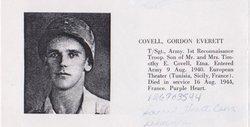 Pvt Gordon Everett Covell