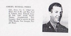 Corp Wendell Pierce Coburn