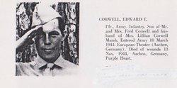 Pvt Edward Ellis Corwell