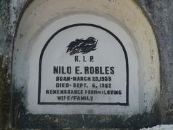 Nilo E Robles