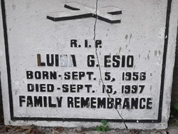 Luisa G Esio