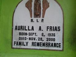 Aurilla A Frias