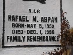 Rafael M. Aspan