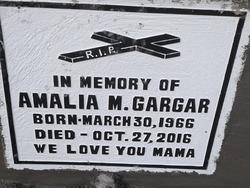 Amalia M. Gargar