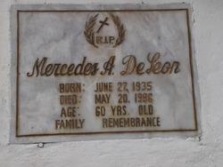 Mercedes A. DeLeon