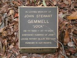 """John Stewart """"Jock"""" Gemmell"""
