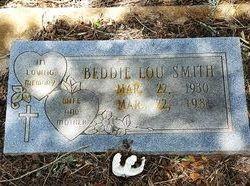 """Bettie Lou """"Beddie"""" <I>Barnes</I> Smith"""