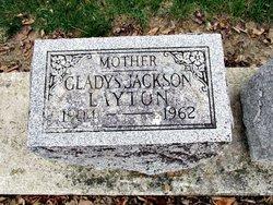 Gladys Marie <I>Baker Jackson</I> Layton