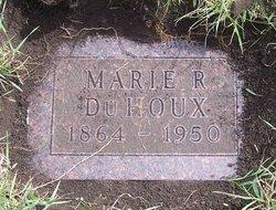 Marie R DuHoux