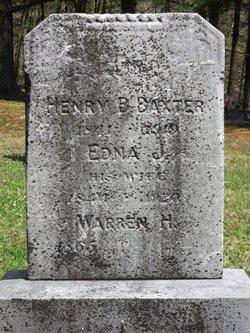 Edna J <I>Beach</I> Baxter