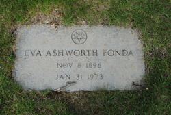 Eva Rose <I>Ashworth</I> Fonda