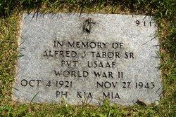 PVT Alfred Jackson Tabor, Sr