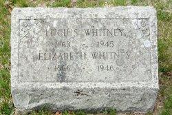 Elizabeth <I>Saunders</I> Whitney
