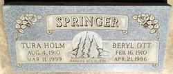 Beryl Ott Springer