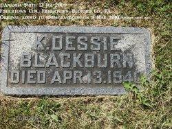 "Katherine Odessa ""Dessie"" Blackburn"